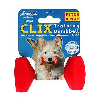 Clix Floating Training Dumbbell For Dog, Play Retrieval Dog Training S
