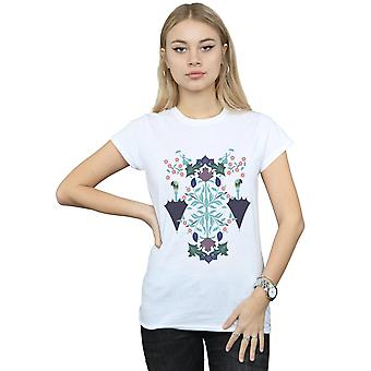 Disney Women's Mary Poppins Floral Collage T-Shirt
