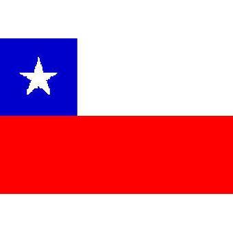 Chile Fahne 5 ft x 3 ft mit Ösen für hängende