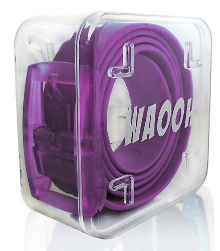 Waooh - Gürtel-Kunststoff Waooh Lila