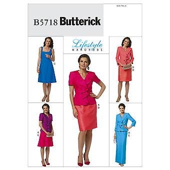 Misses' Jacket, Dress and Skirt-A5 (6-8-10-12-14) -*SEWING PATTERN*