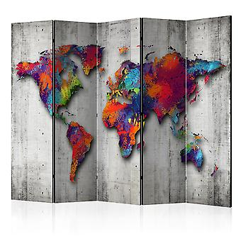 Room Divider - Concrete wereld [Room Dividers]