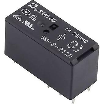 PCB relays 12 Vdc 10 A 1 change-over SM-S-212D