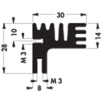 8.1 C/W Kühlkörper (L x b x H) 50 x 30 x 28 mm Fischer Elektronik SK 125 50 SA