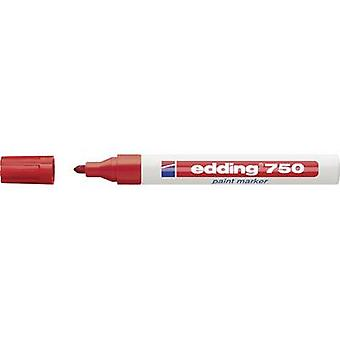 Edding Paint marker 4-750002 Red 2 mm, 4 mm 1 pc(s)