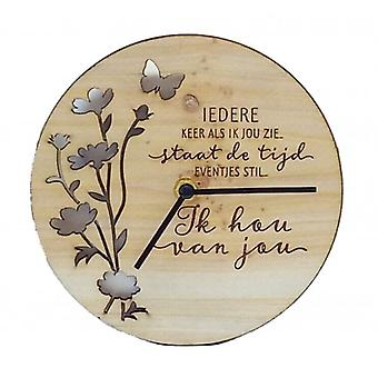 Horloge de bons moments je t'aime