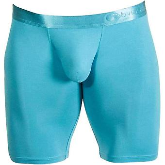 Obviously AnatoFree Spectra 2 Boxer Brief 9inch Leg - Maui Blue