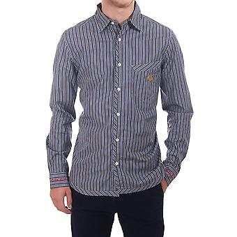 Vivienne Westwood Man Classic Shirt With Striped Detail
