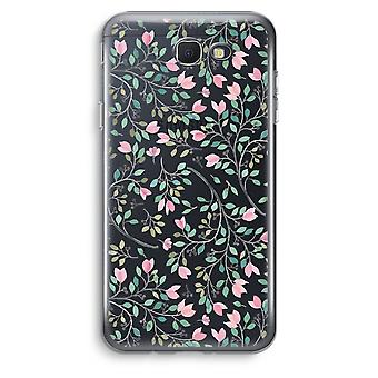 Samsung Galaxy J5 Prime (2017) Transparent Case (Soft) - Dainty flowers