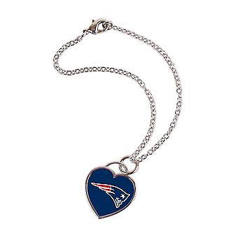 Wincraft ladies 3D heart bracelet - NFL New England Patriots