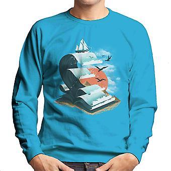 Buch der Wellen Herren Sweatshirt