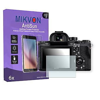 Sony Alpha 7S II Screen Protector - Mikvon AntiSun (Retail Package with accessories)