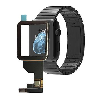 Touch screen glass for Apple Watch 38mm repair Flex cable black