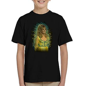 TV Times Dusty Springfield Flare Glow Effect Kid's T-Shirt