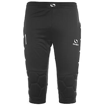 Sondico Kids Keeper Three Quarter Trousers Pants Bottoms Elasticated Waistband