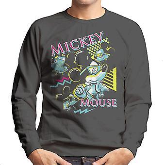 Disney Mickey Mouse Band 80s Vice Men's Sweatshirt