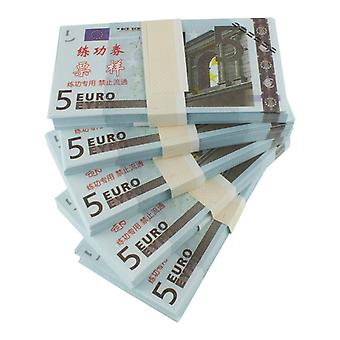 Play money-5 Euro (100 banknotes)