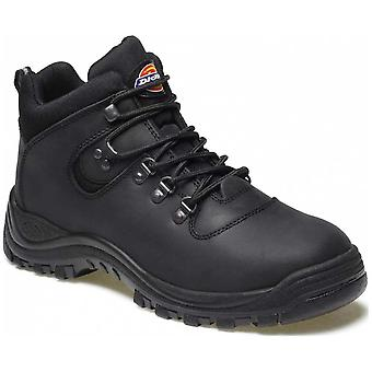 Dickies Mens Fury Work Super Safety Steel Toe Cap  Hiker Boot Black