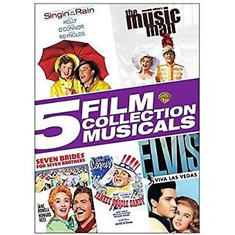 5 Film Collection: Musicals [DVD] USA import
