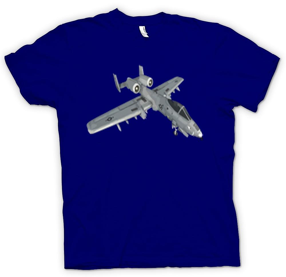 Mens t-skjorte - A10 Tank Buster - USAF