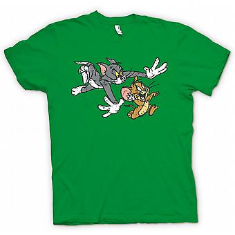 T-shirt - Tom e Jerry - fumetto retrò Classic-donna