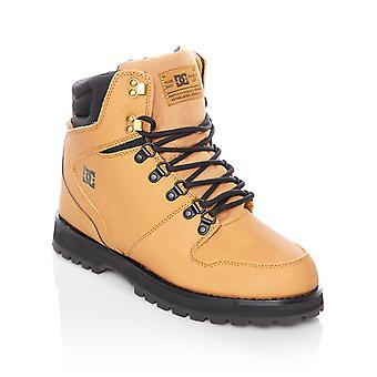 DC Wheat-Black Peary Boots