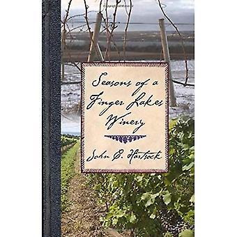 Jahreszeiten von einem Finger Lakes-Weingut