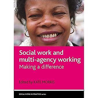 Travail social et travail multi-organismes: faire une différence (travail Social dans la pratique)
