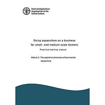 Doing aquaculture as a business for small- and medium-scale farmers: practical training manual, Module 2: The economic dimension of commercial aquaculture (Doing aquaculture as a business for small- and medium-scale� farmers : practical training manual)