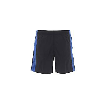 Alexander Mcqueen Blue/black Nylon Trunks