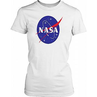 NASA Logo Standard damer T skjorte