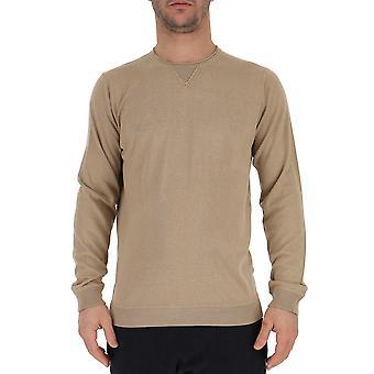 Laneus Beige Silk Sweater