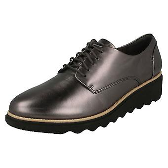 Mesdames Clarks Smart Lace Up chaussures Sharon Noel
