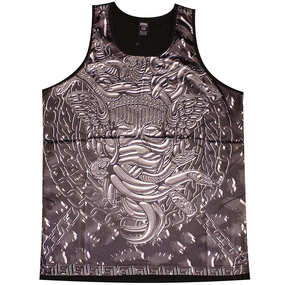 Crooks & Castles Throne Tank Top Black