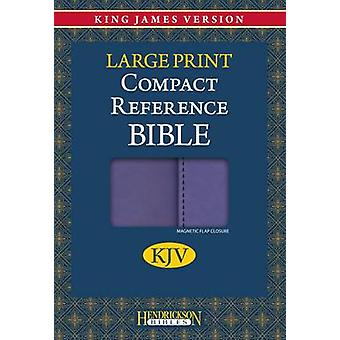 KJV Compact Reference Bible (Large Print edition) by Hendrickson Bibl