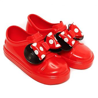 Melissa zapatos mini Disney Minnie be Slip on trainer, rojo