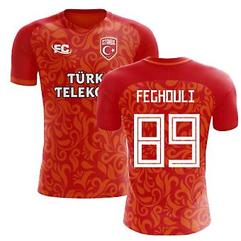 2018-2019 Galatasaray Fans Culture Home Concept Shirt (Feghouli 89)