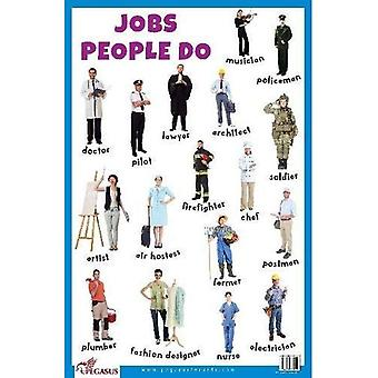 Jobs People Do Educational Chart