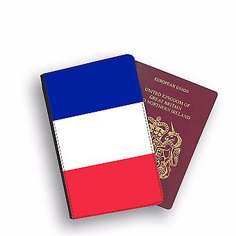 FRANCE Flag Passport Holder Style Case Cover Protective Wallet Flags design
