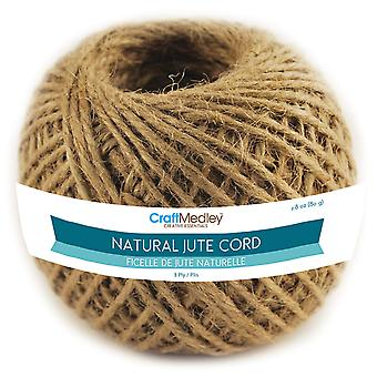 Natural Jute Cord 3Ply 80G Fl102