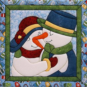 Snow Couple Quilt Magic Kit 12