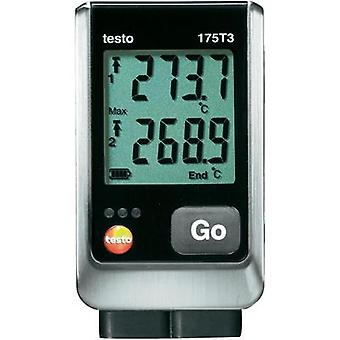 Temperature data logger testo 175 T3 Unit of measurement Temperature