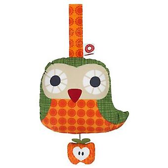Franck & Fischer Else orange owl musical toy (Giocattoli , Prescolare , Bebé , Peluches)