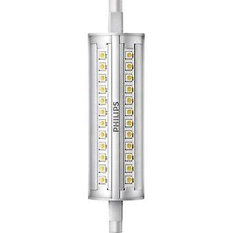 LED (monochrome) Philips 230 V R7s 14 W = 100 W Warm white EEC: A+ Tubular (Ø x L) 29 mm x 118 mm dimmable 1 pc(s)