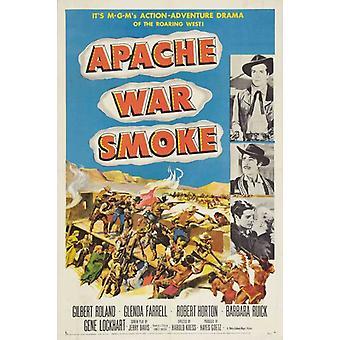 Apache War Smoke Movie Poster Print (27 x 40)