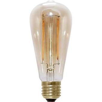 LED Segula 230 V E27 6 W = 35 W Warm white EEC: A+ Bulged (Ø x L) 65 mm x 145 mm Filament, dimmable 1 pc(s)