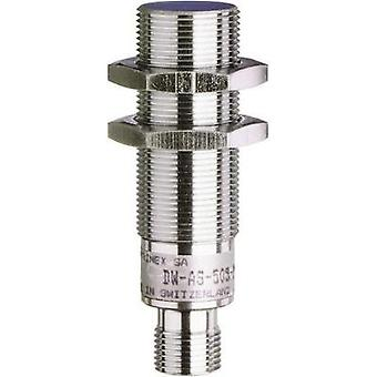 Inductive proximity sensor M18 quasi-shielded Voltage (analogue) Contrinex DW-AS-509-M18-390