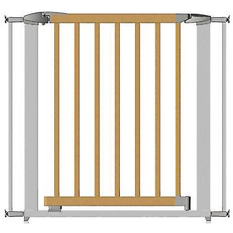 Clippasafe Extendable Swing Shut Gate - White Metal