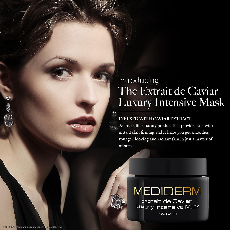 MediDerm beste Luxus feuchtigkeitsspendende Gesichtsmaske für Hautverjüngung mit Kaviarextrakt