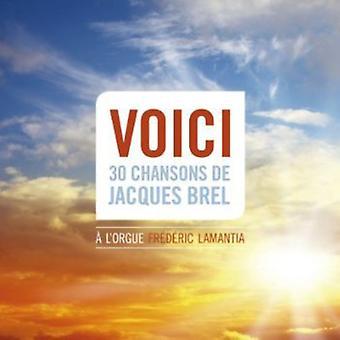 Frederic Lamantia - Voici: 30 Chansons De Jacques Brel [SACD] USA importerer
